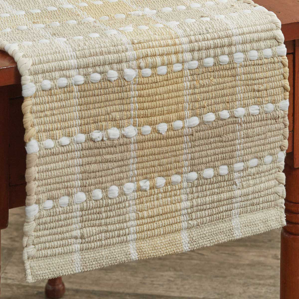 Cocoa Butter Chindi Table Runner 36 Quot L Park Designs