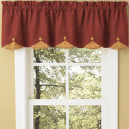 Lined Scallop Valances