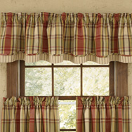 Lined Layered Valances