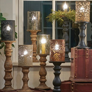 Candlestick Lamps & Sleeves