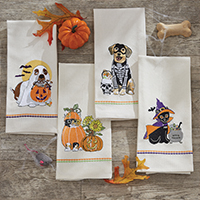 Fall Dishtowels